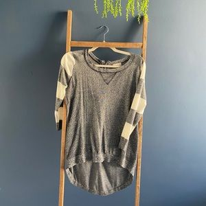 Heater grey alter'd state sweater